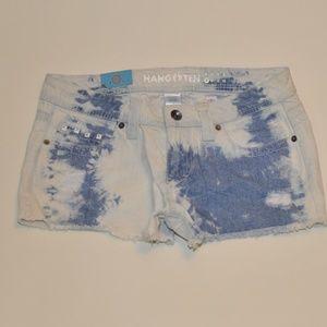 Hang ten womens cut  off shorts size 7 -3026-